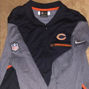 Chicago Bears team exclusive 1/4 Zip